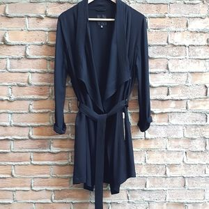 Dynamite Unlined Drapey Trenchcoat